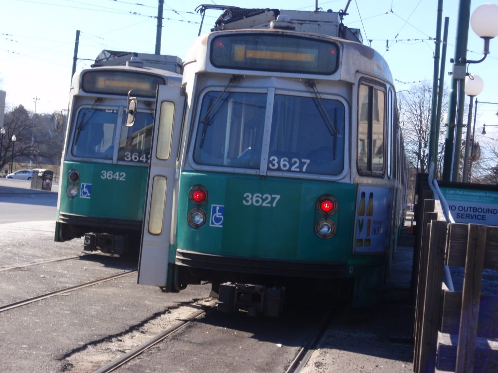 """All aboard the Green Line!"""
