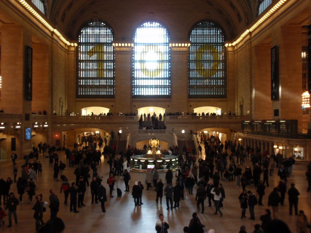Grand Central Terminal, NOT Station!