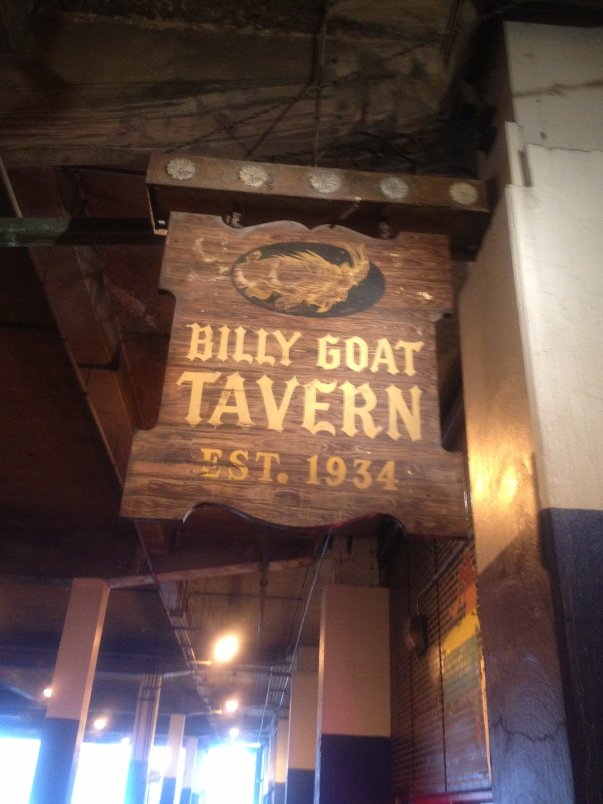"""Welcome to the Billy Goat!"""