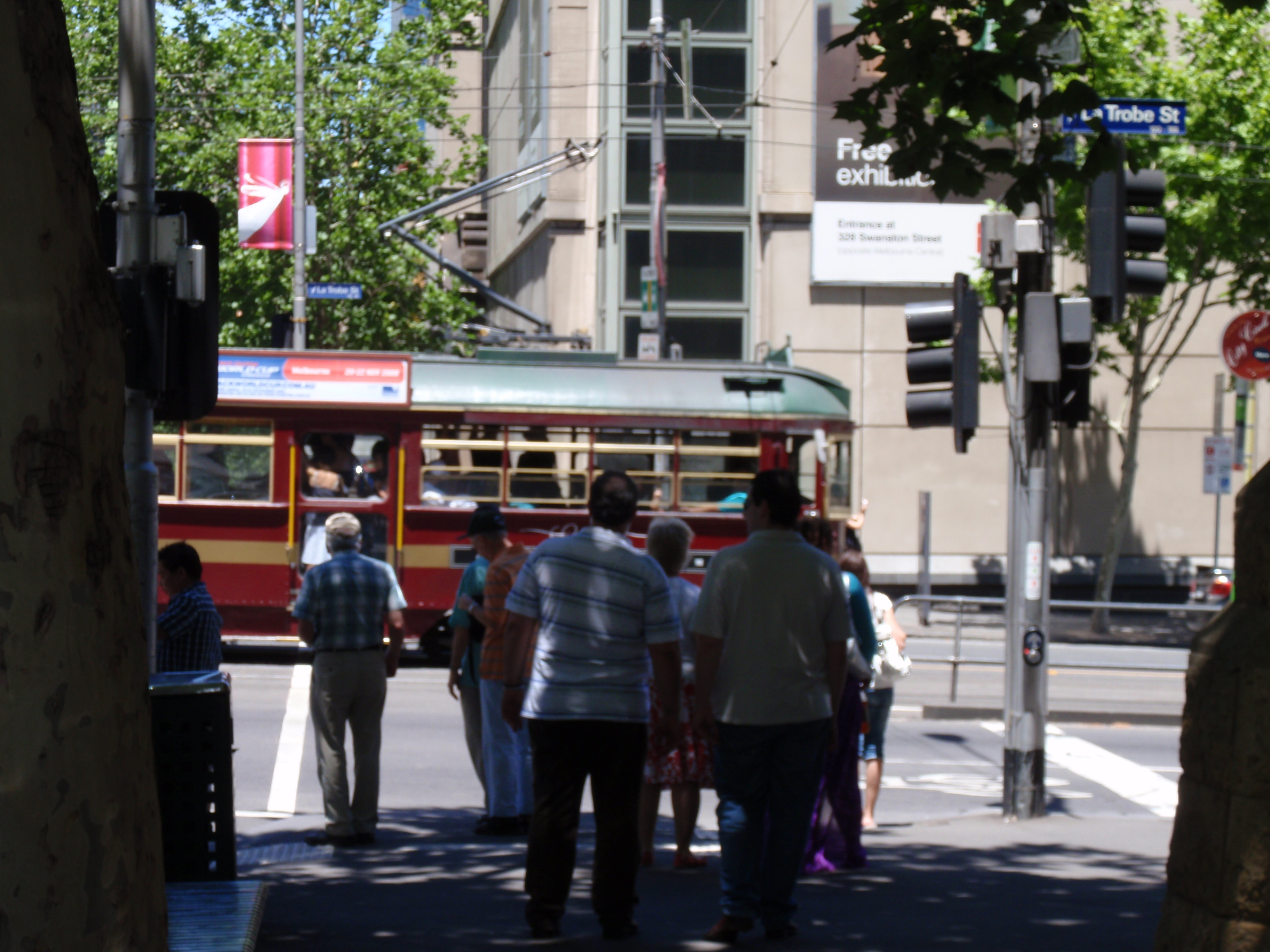 """""""A streetcar, just a few steps from your room!"""""""