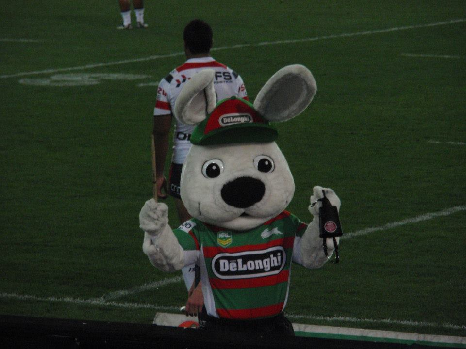 """And a one, and a two, and a three!""  LET'S GO RABBITOHS!"