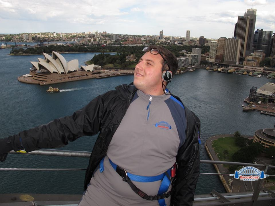 """On top of Sydney..."""
