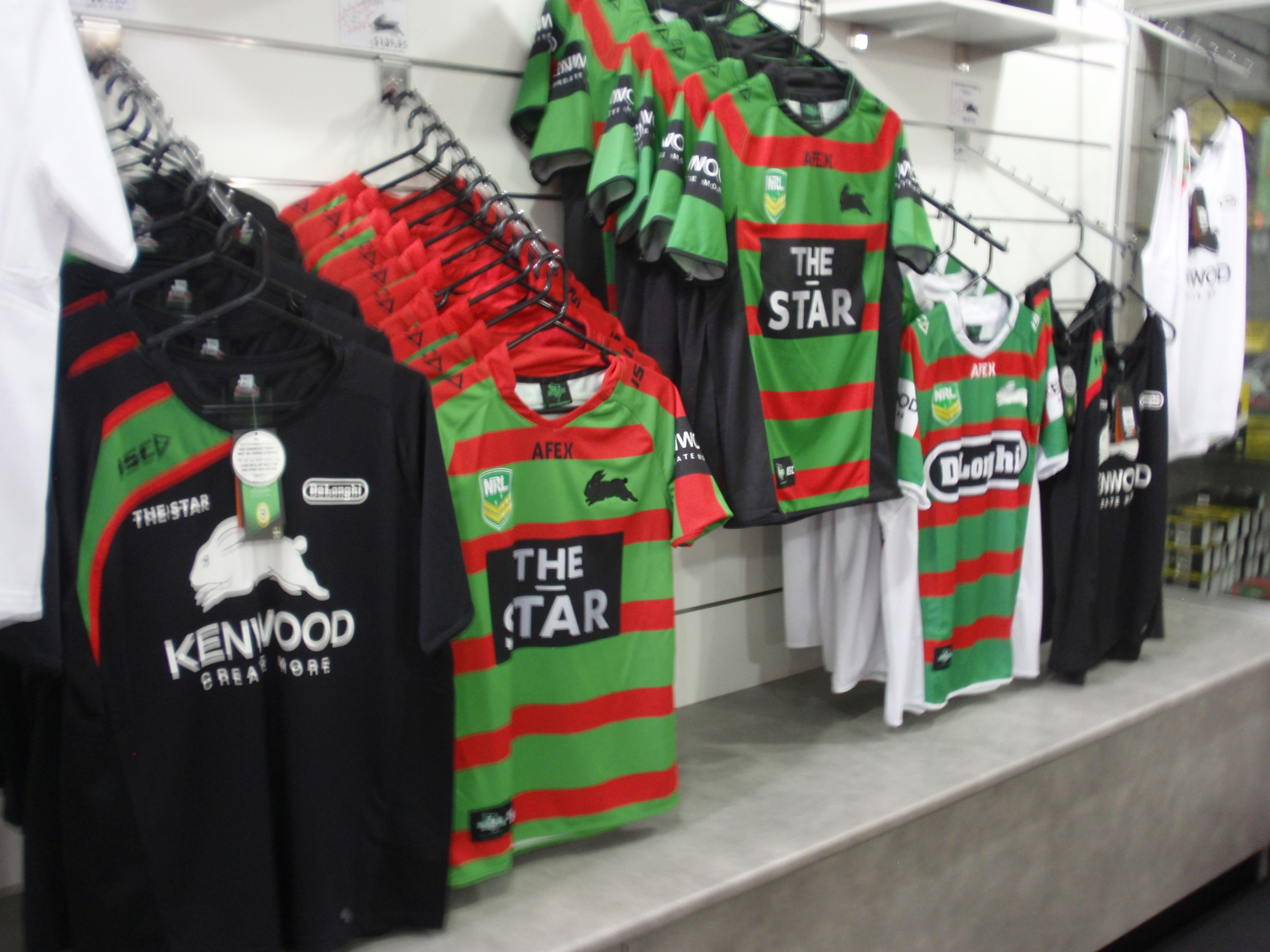 """For all your Rabbitohs needs..."""
