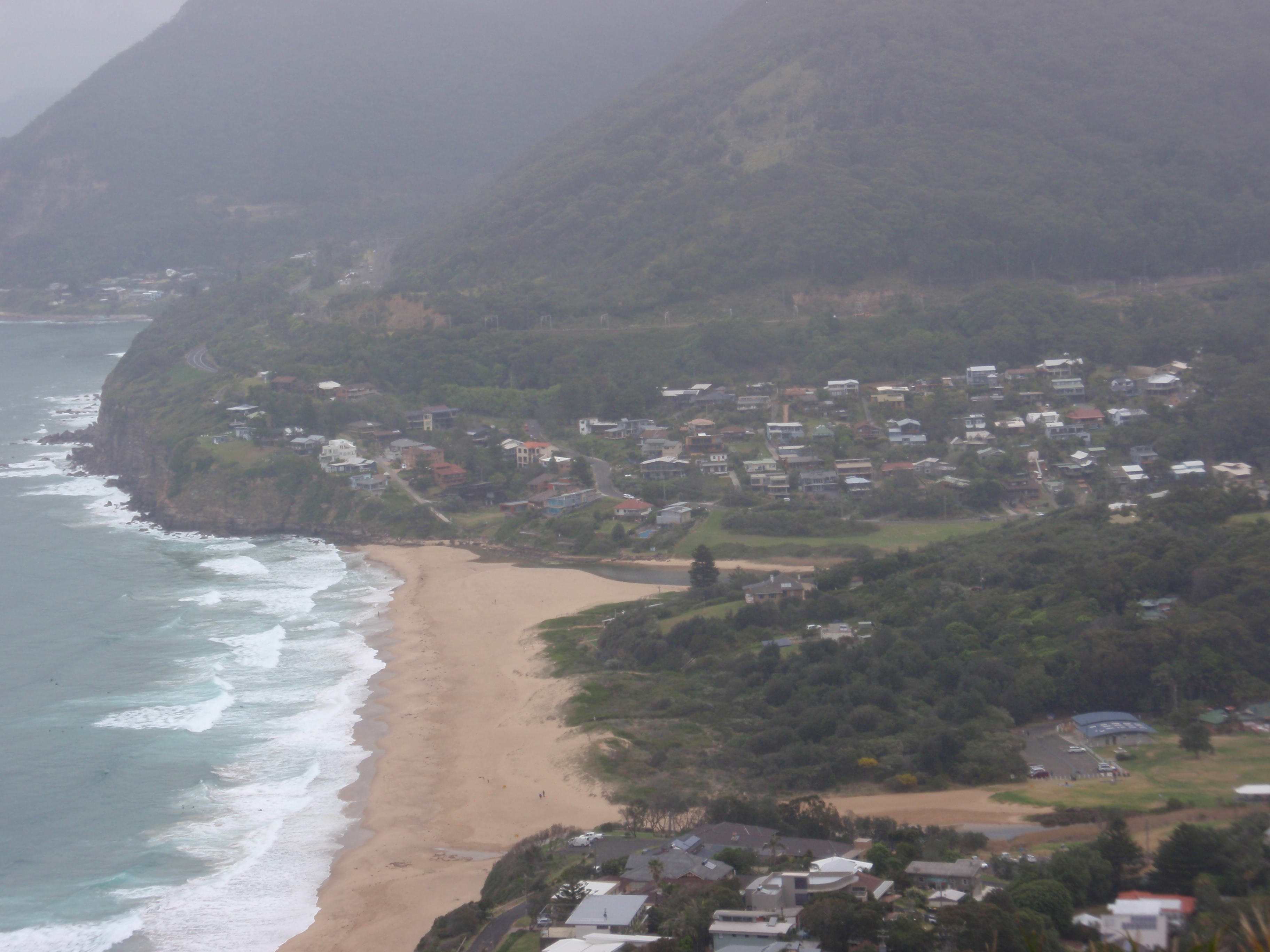 """Surf's up at Stanwell Tops!"""