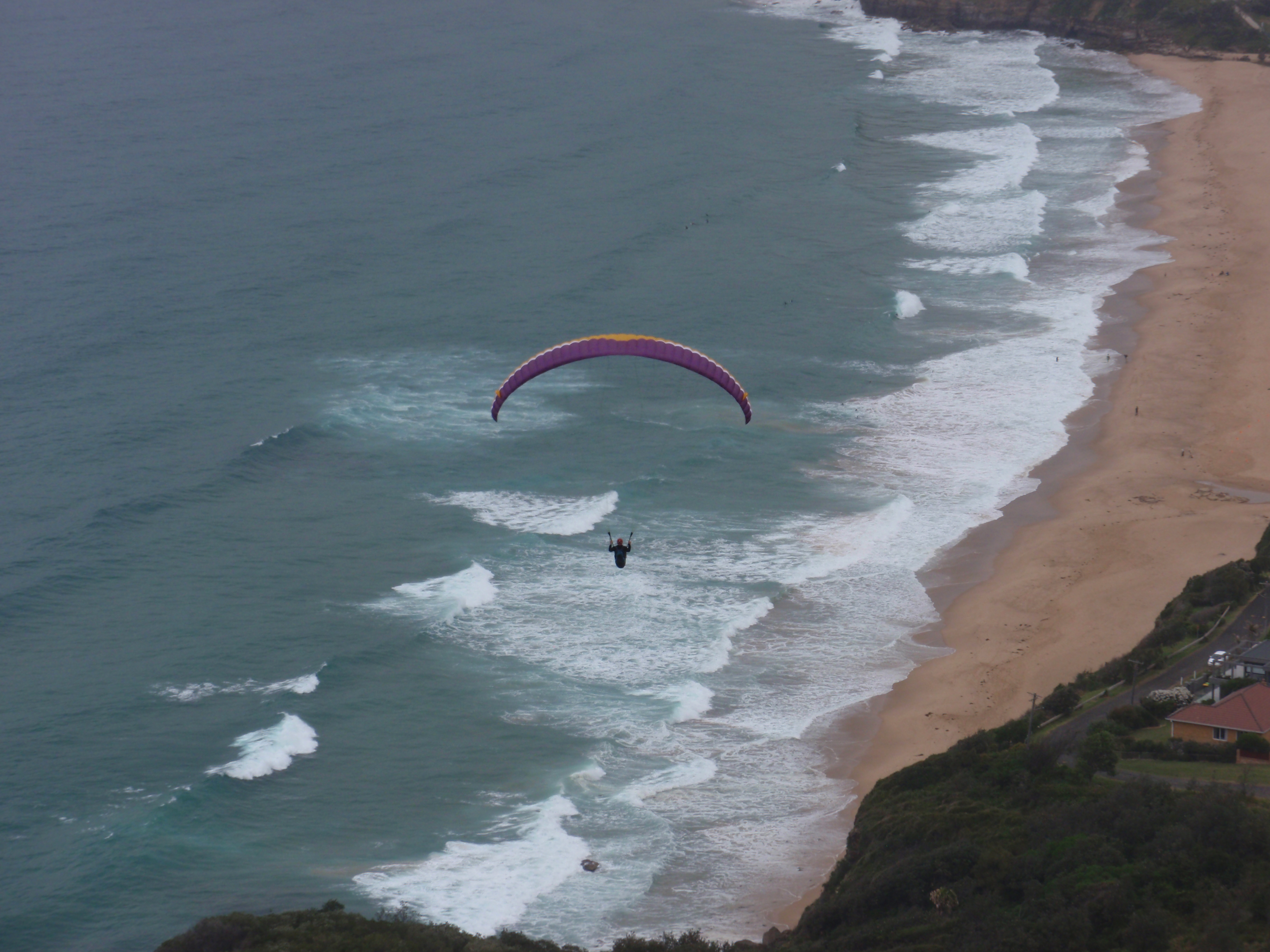 Flying over Stanwell Tops