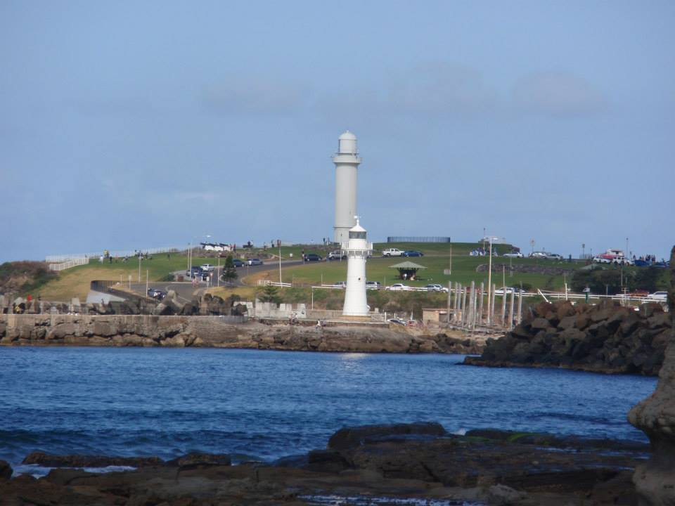 Breakwater Lighthouse (foreground) & Head Lighthouse (background)