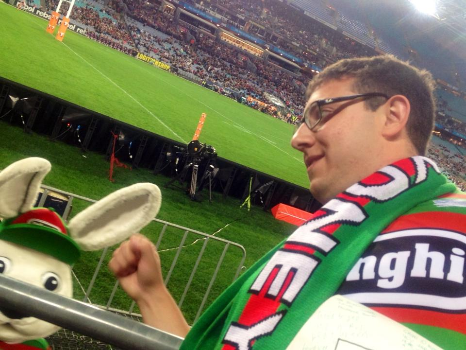 Meeting Reggie: A rite of passage for all Rabbitohs fans!