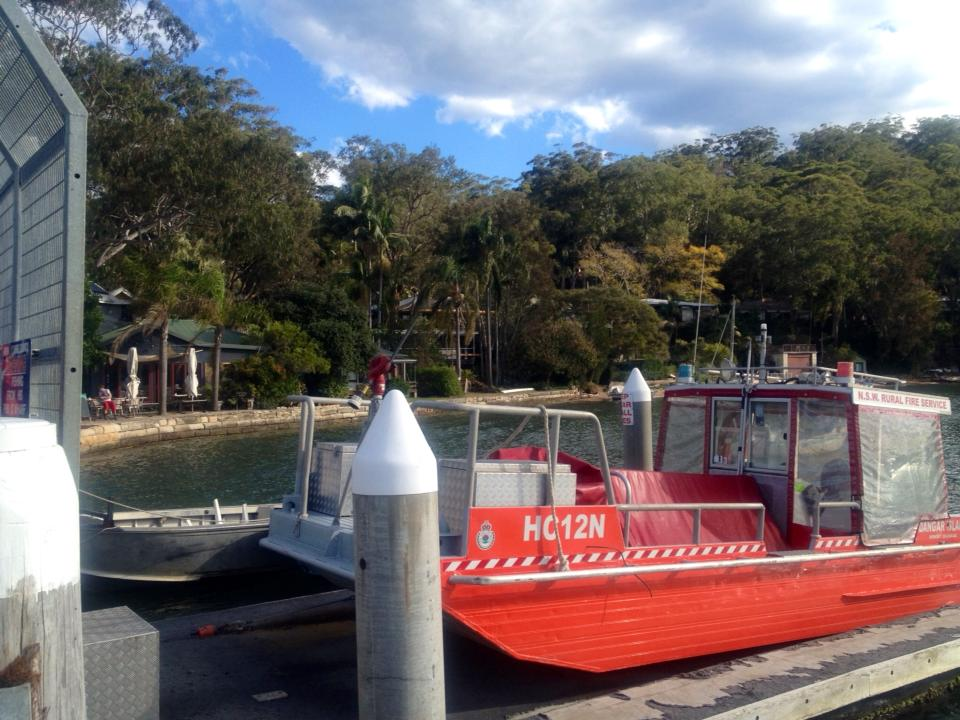 Dangar Island boat jetty