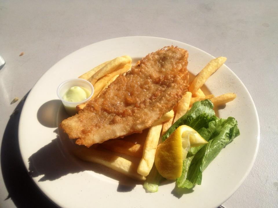 """Fish and Chips, Hawkesbury River Style!"""
