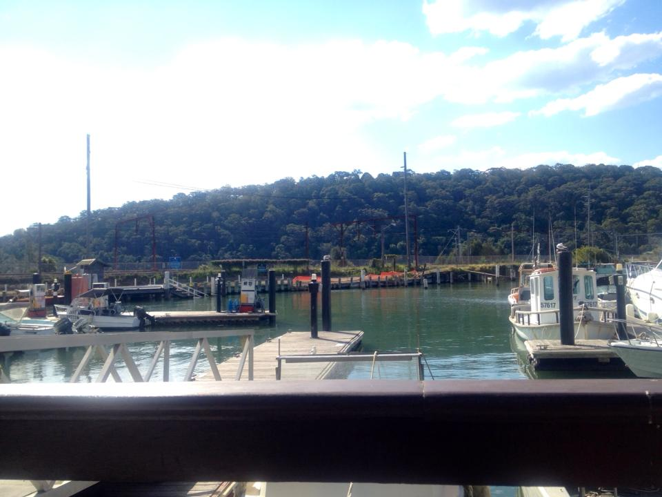 Dining on the Hawkesbury