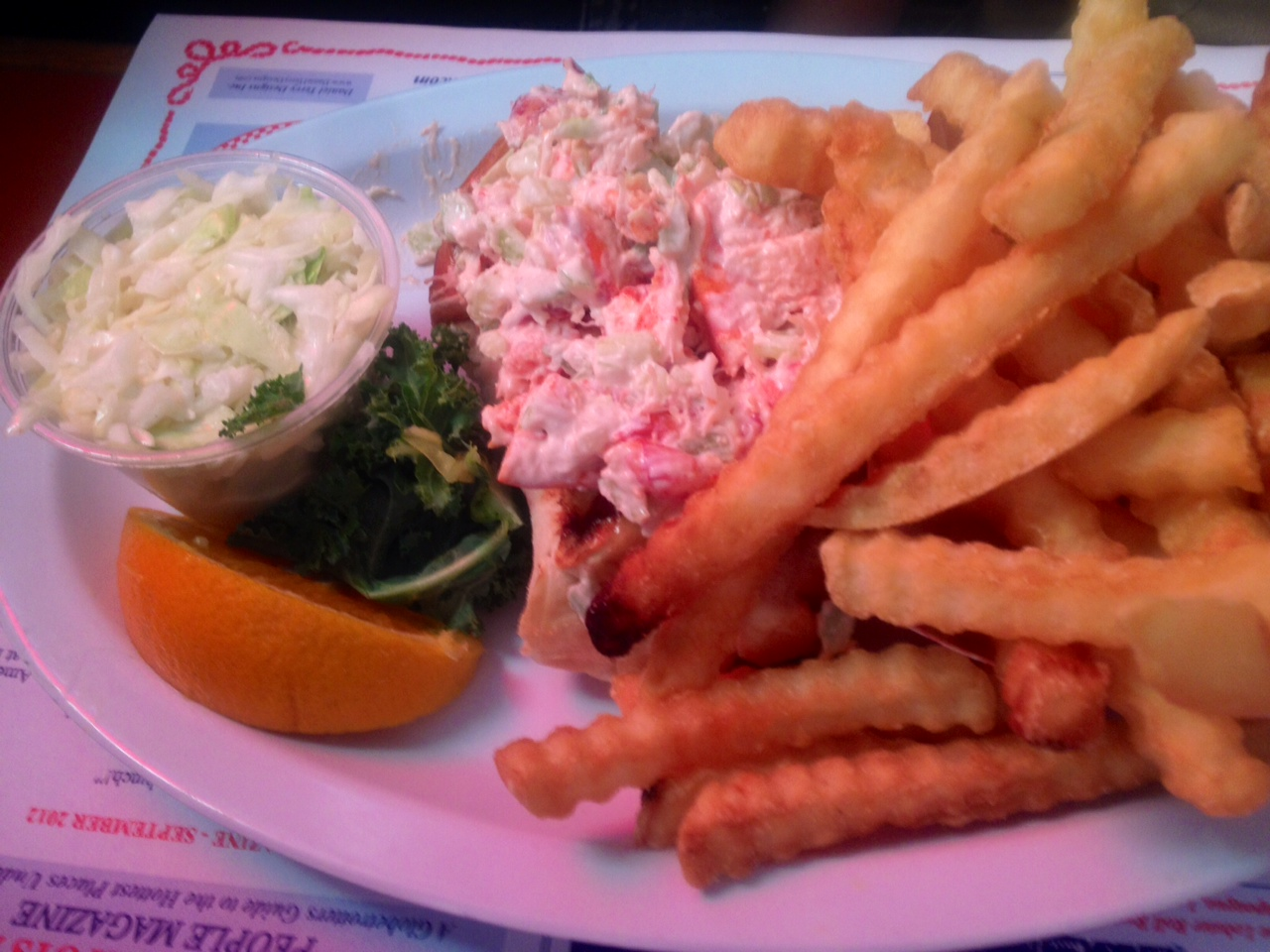 Lobster Roll at the Lobster Roll