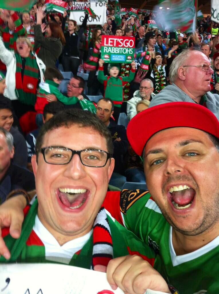 """""""Now THESE are a pair of excited Bunnies!  GO RABBITOHS!"""""""