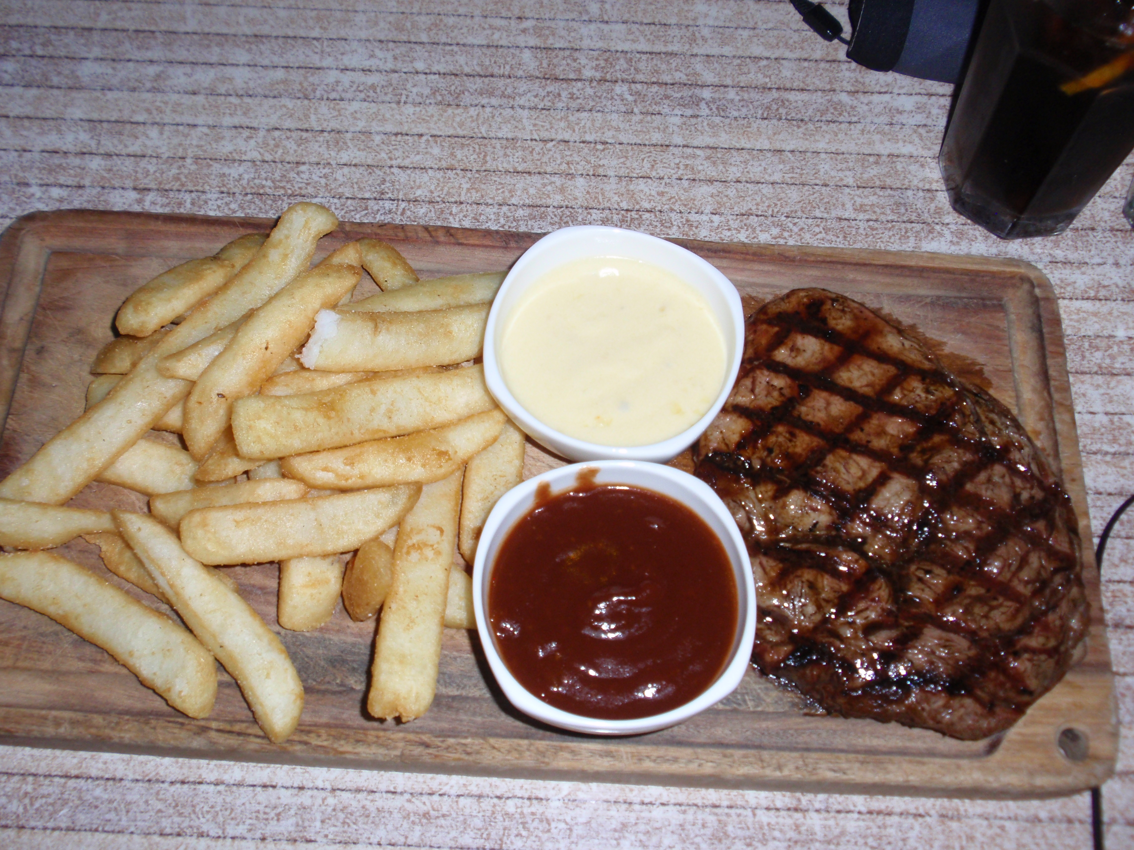 Steak and Chips, anyone?