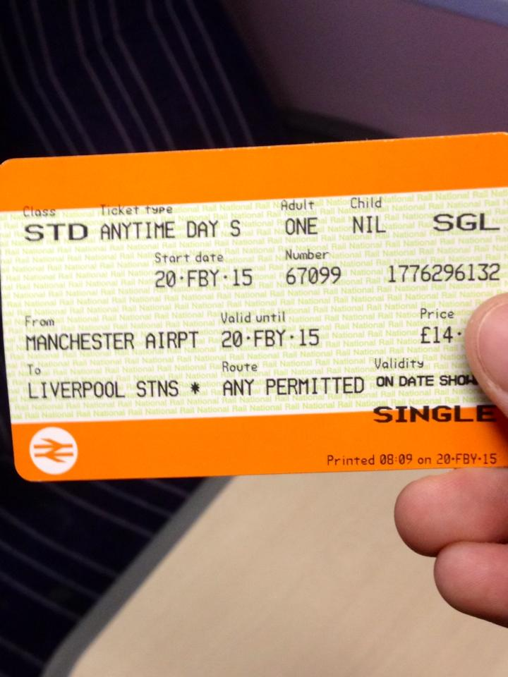 All Aboard for Liverpool!