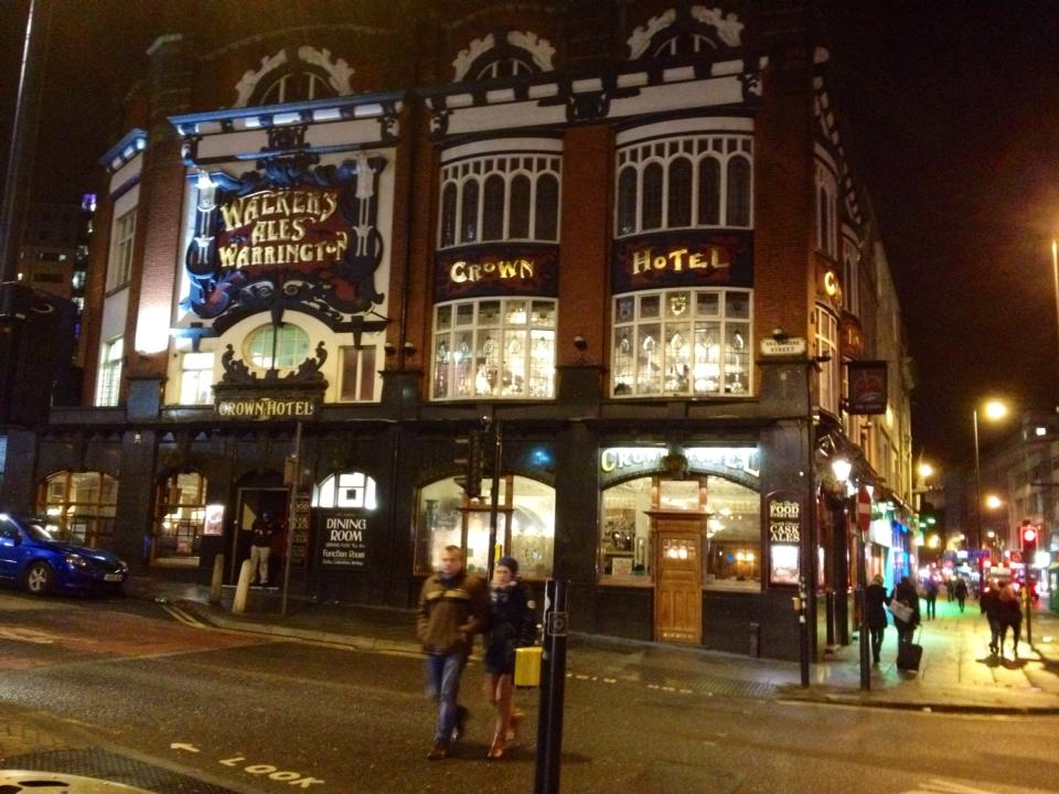 Liverpool's Crown Hotel