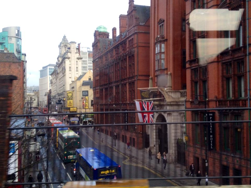 Manchester, between Piccadilly Station and Oxford Station