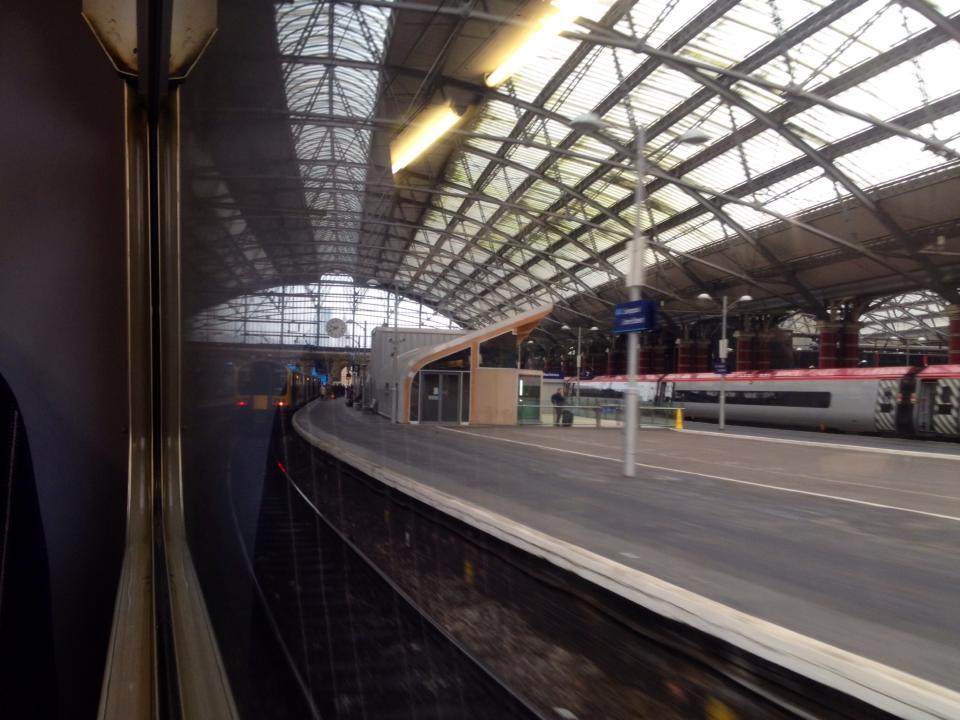 """""""Now arriving at Liverpool Lime Street station..."""""""