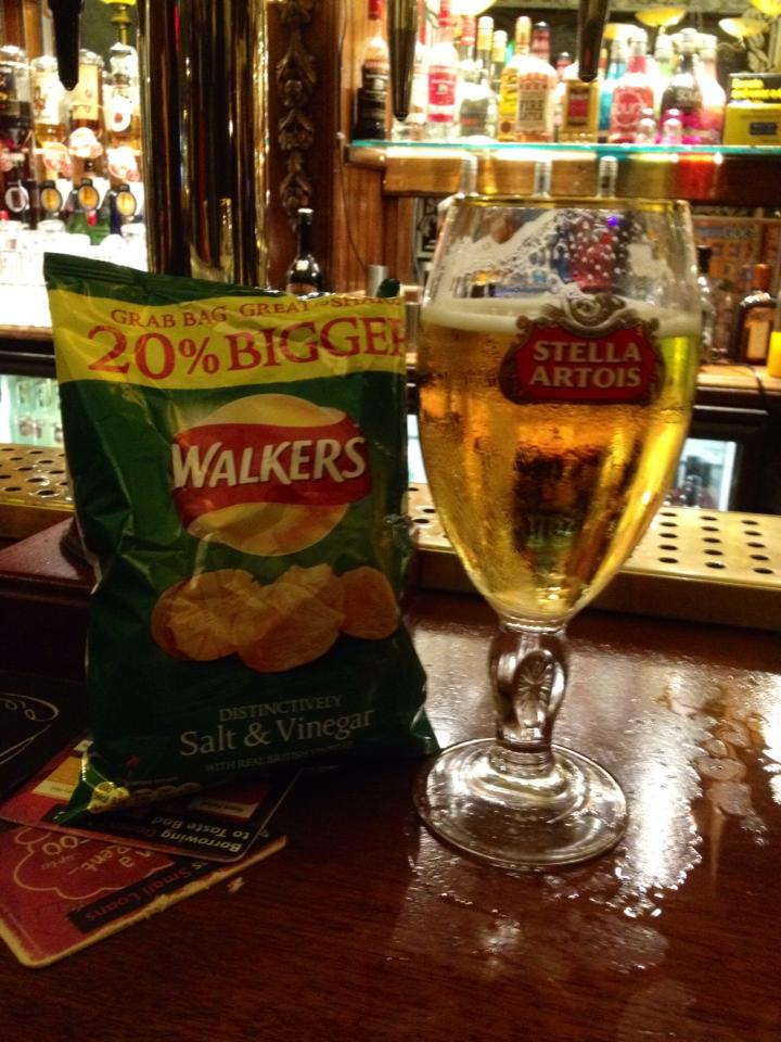 Walkers and Stella: a winning combination!