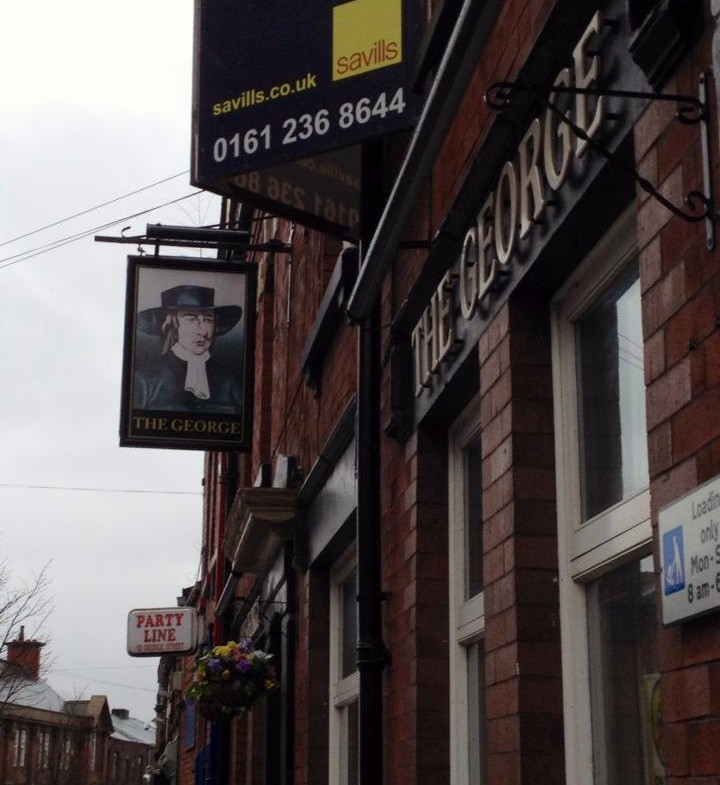 The George Pub: HQ for all St. Helens Saints fans!