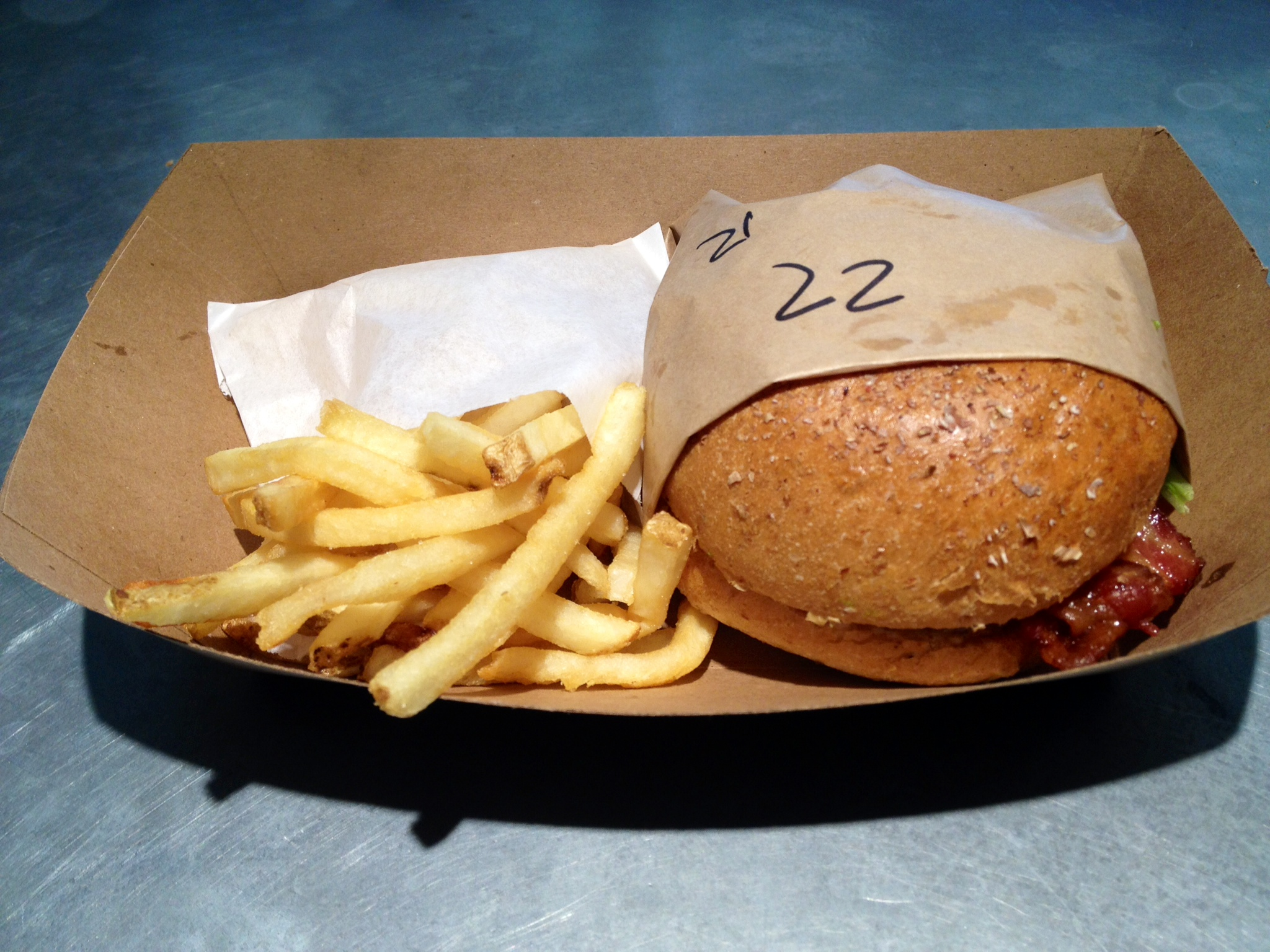 Brgr and Fries