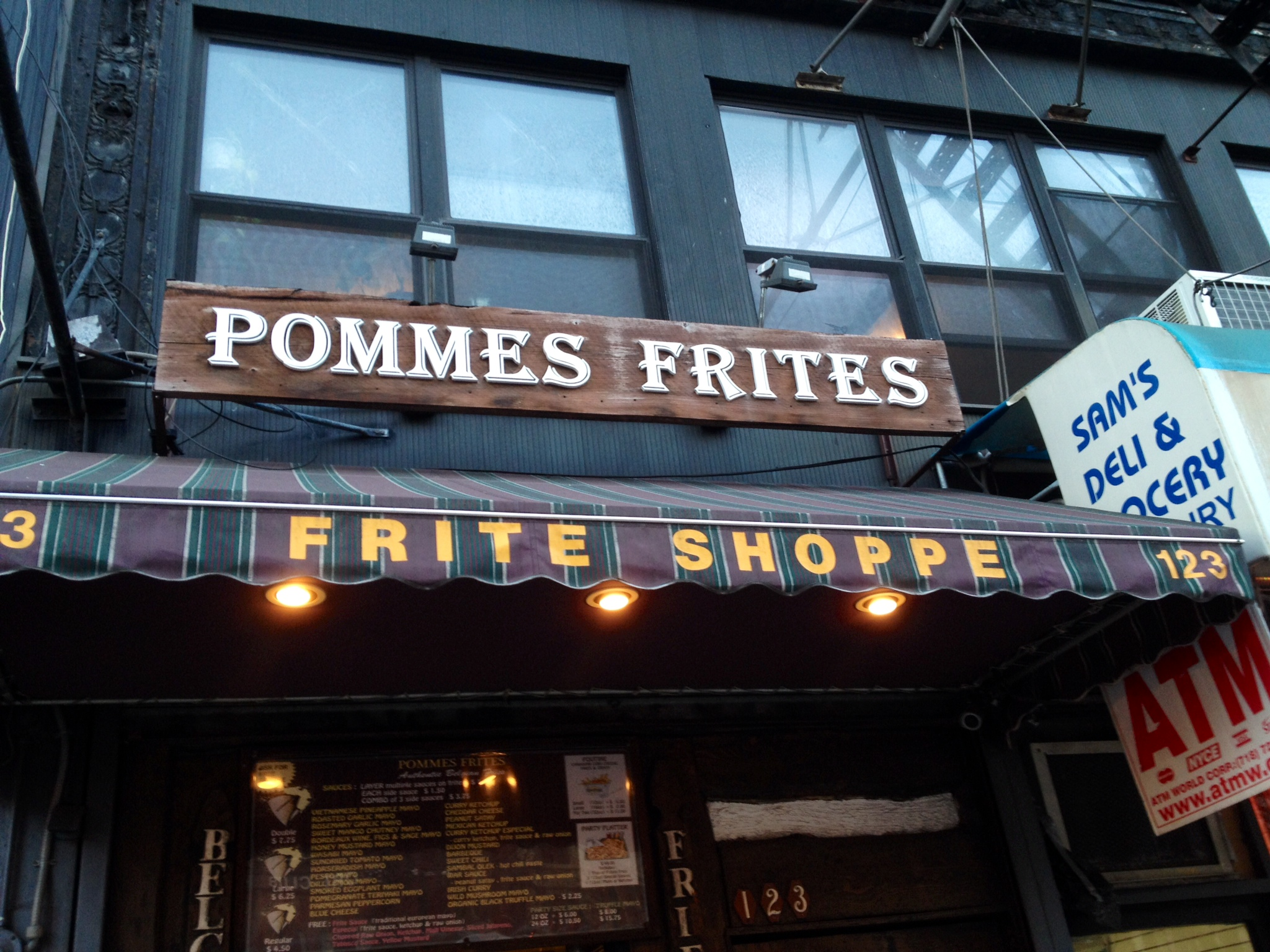 Welcome to Pommes Frites