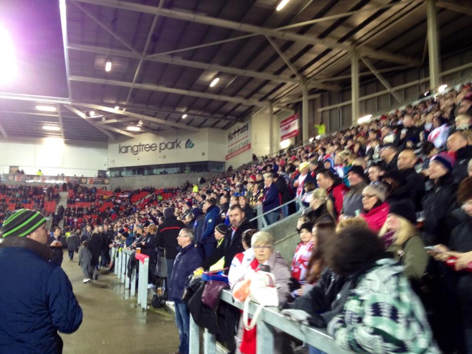 The crowd at Langtree Park is gonna be big tonight!
