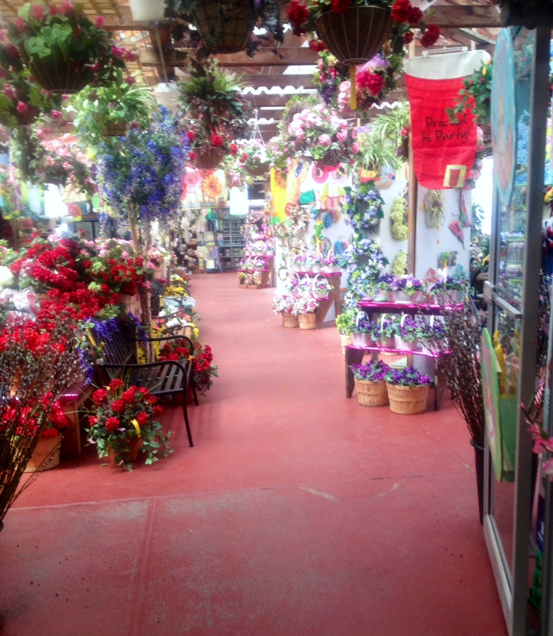 Inside the floral halls of the Dees