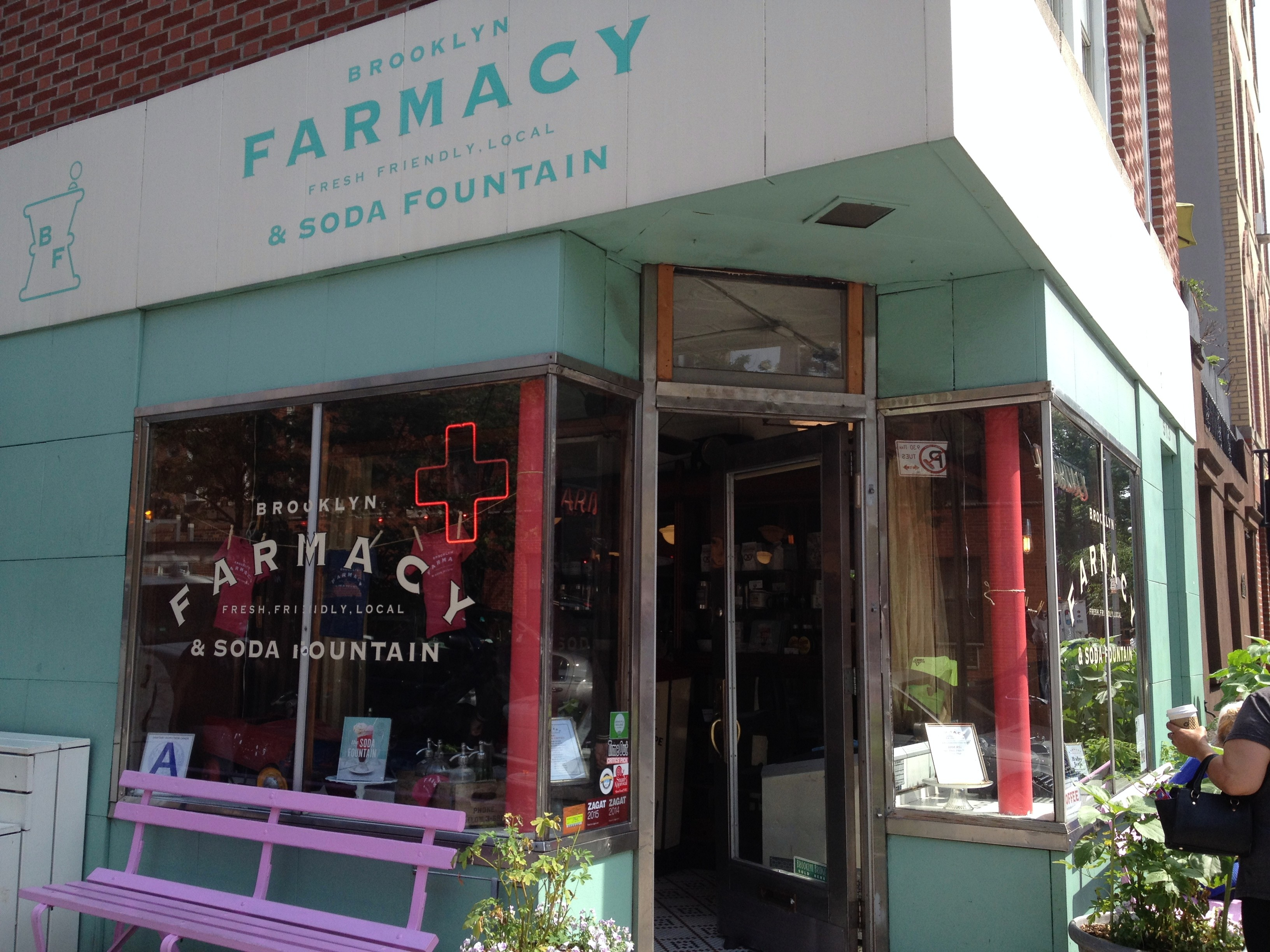 Step back in time to the Brooklyn Farmacy!