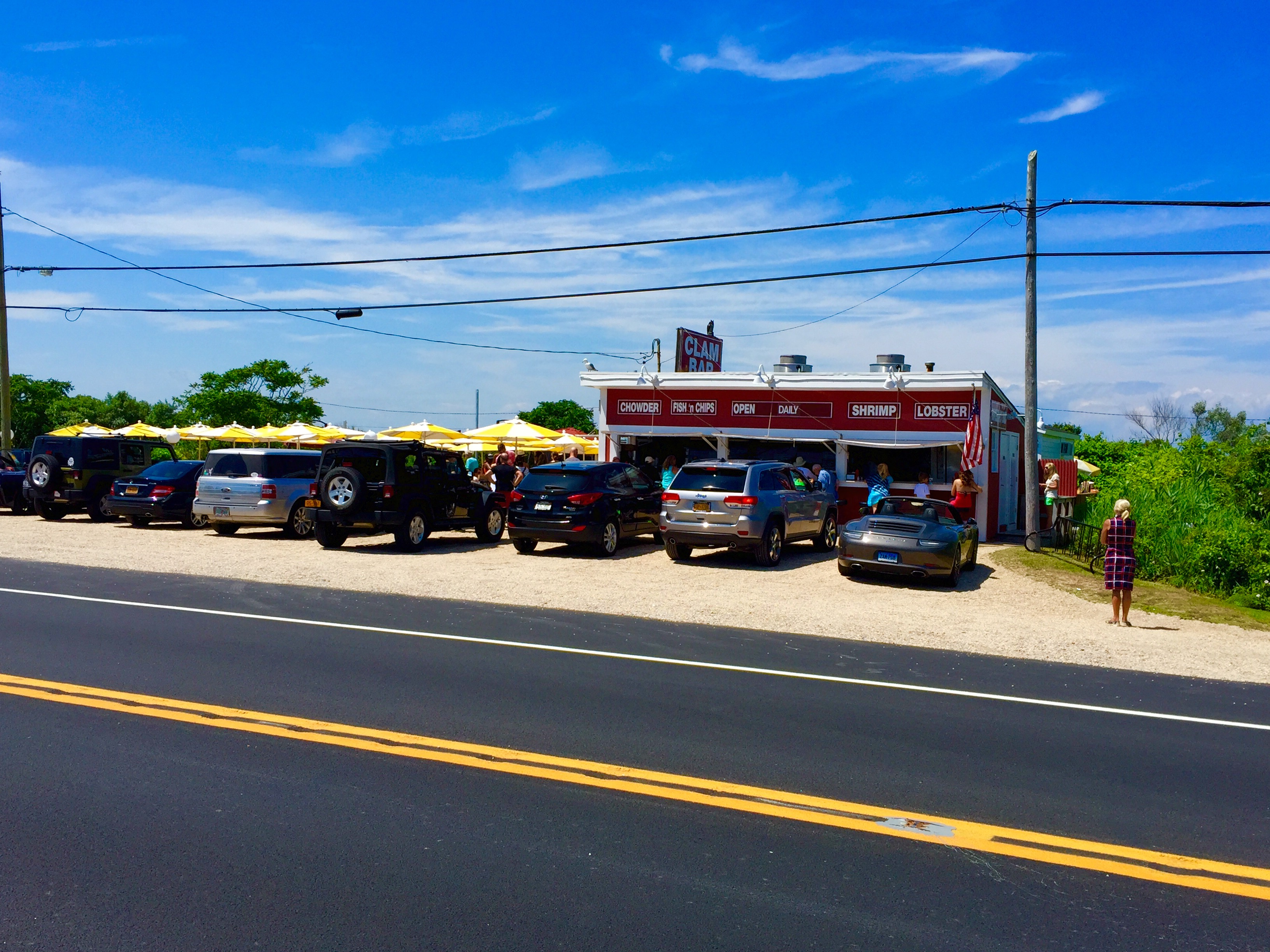 The Clam Bar: Last chance for seafood on Rt. 27!