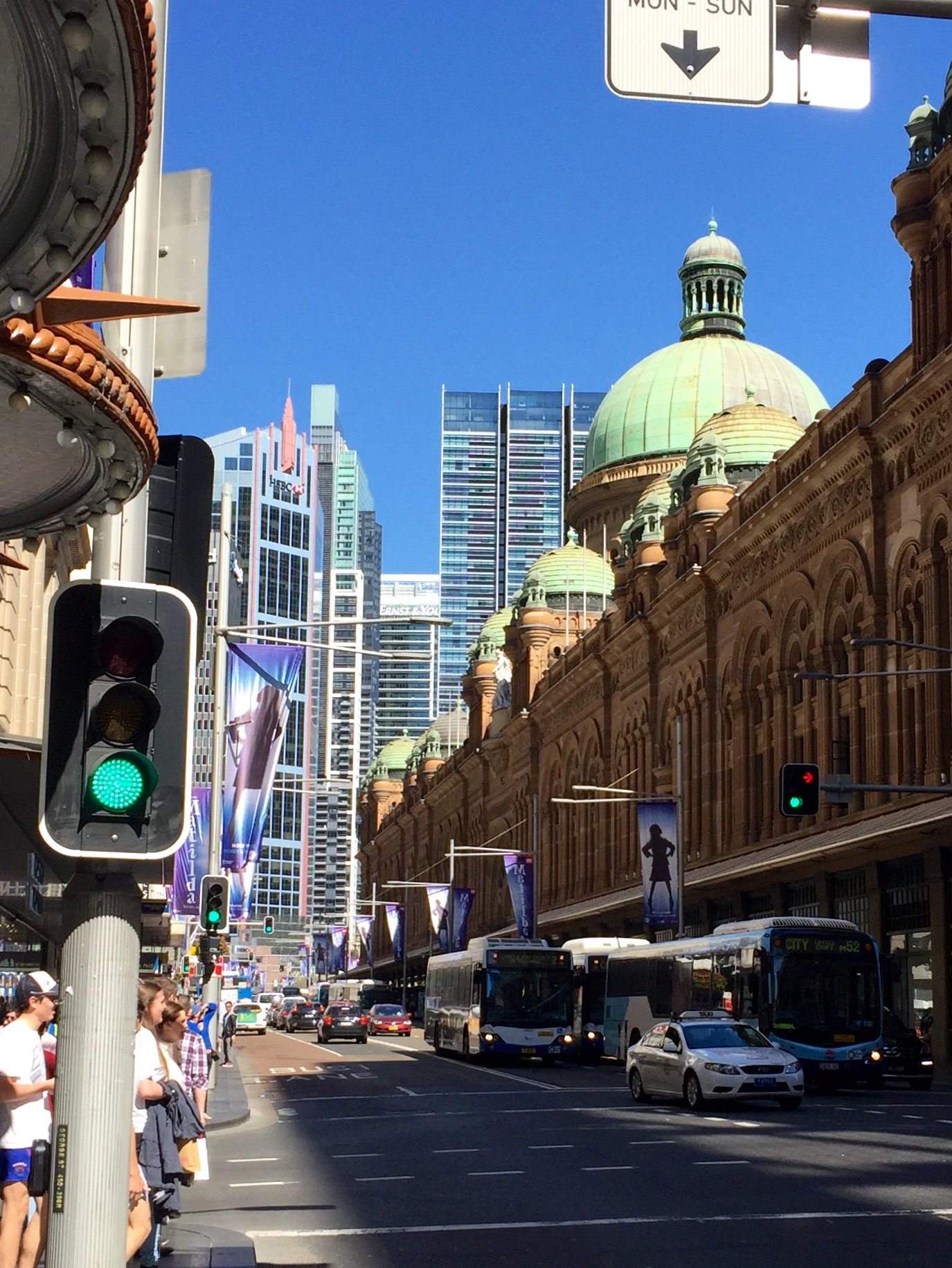 The QVB: My Aussie neighborhood shopping centre!