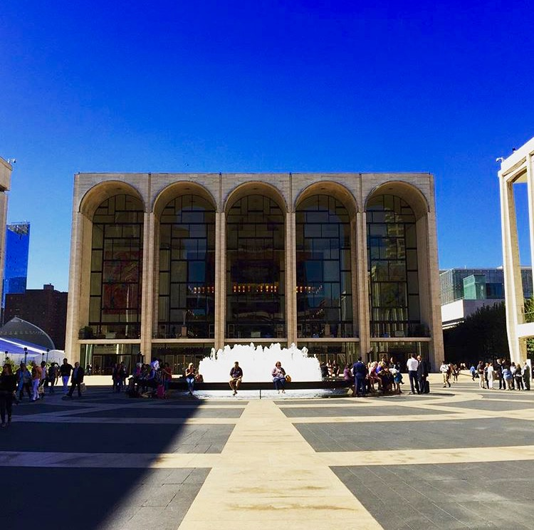 Welcome to Lincoln Center.  Welcome to the Metropolitan Opera House