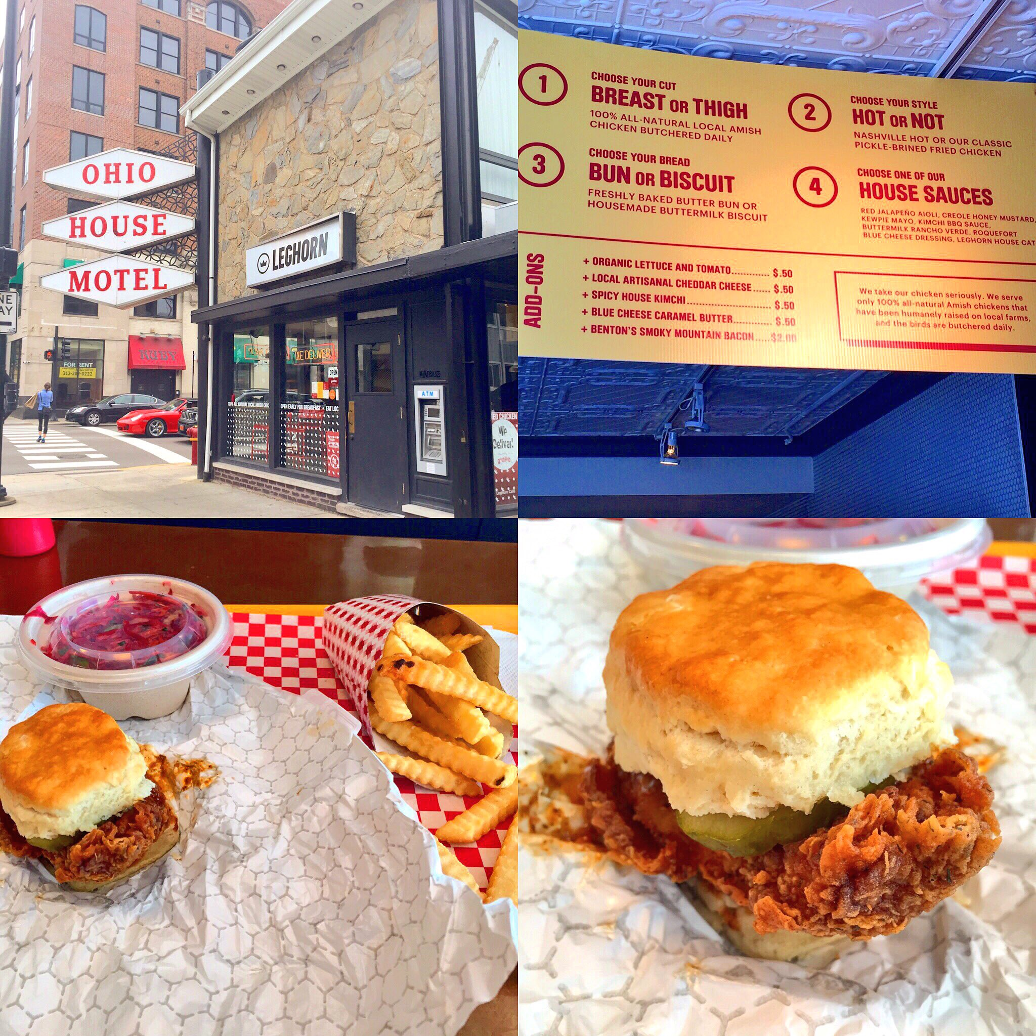 Leghorn's Cafe: Best Chicken and Biscuits in Chi-town!