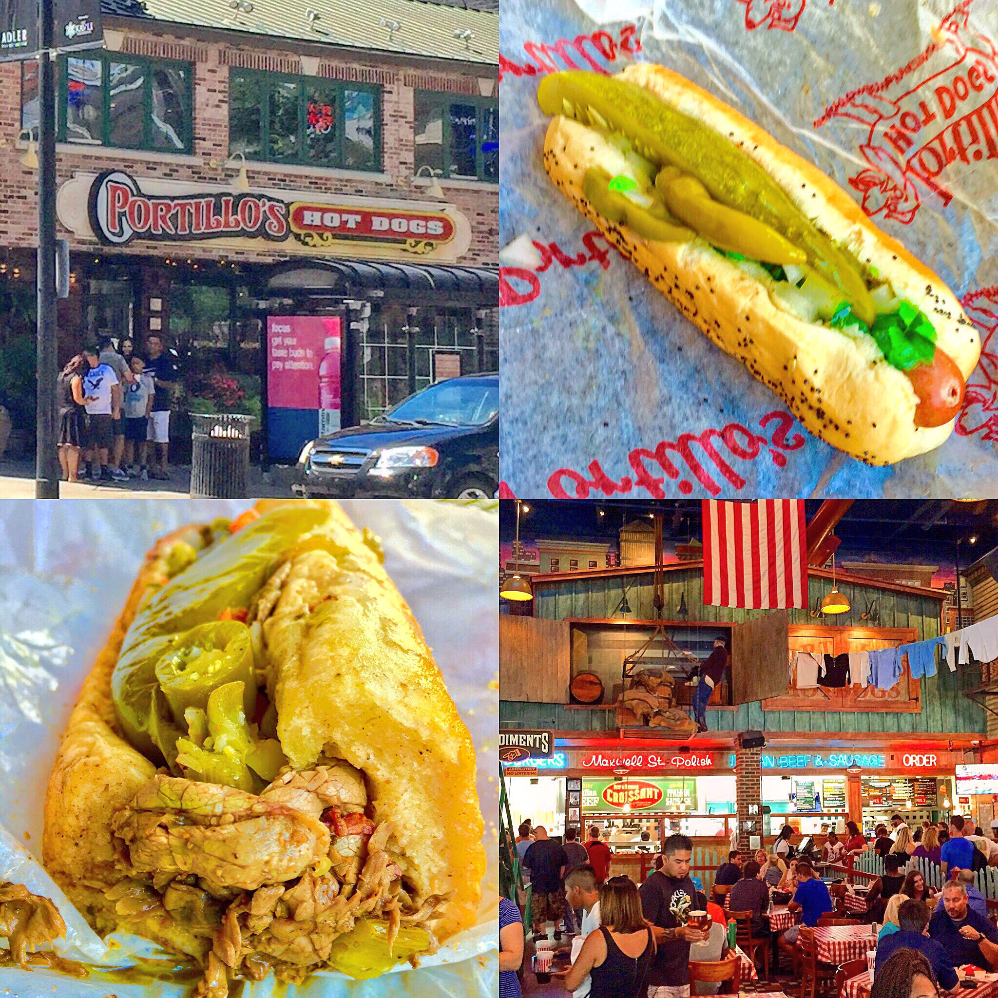 Portillo's: Hot Dogs and Italian Beef!