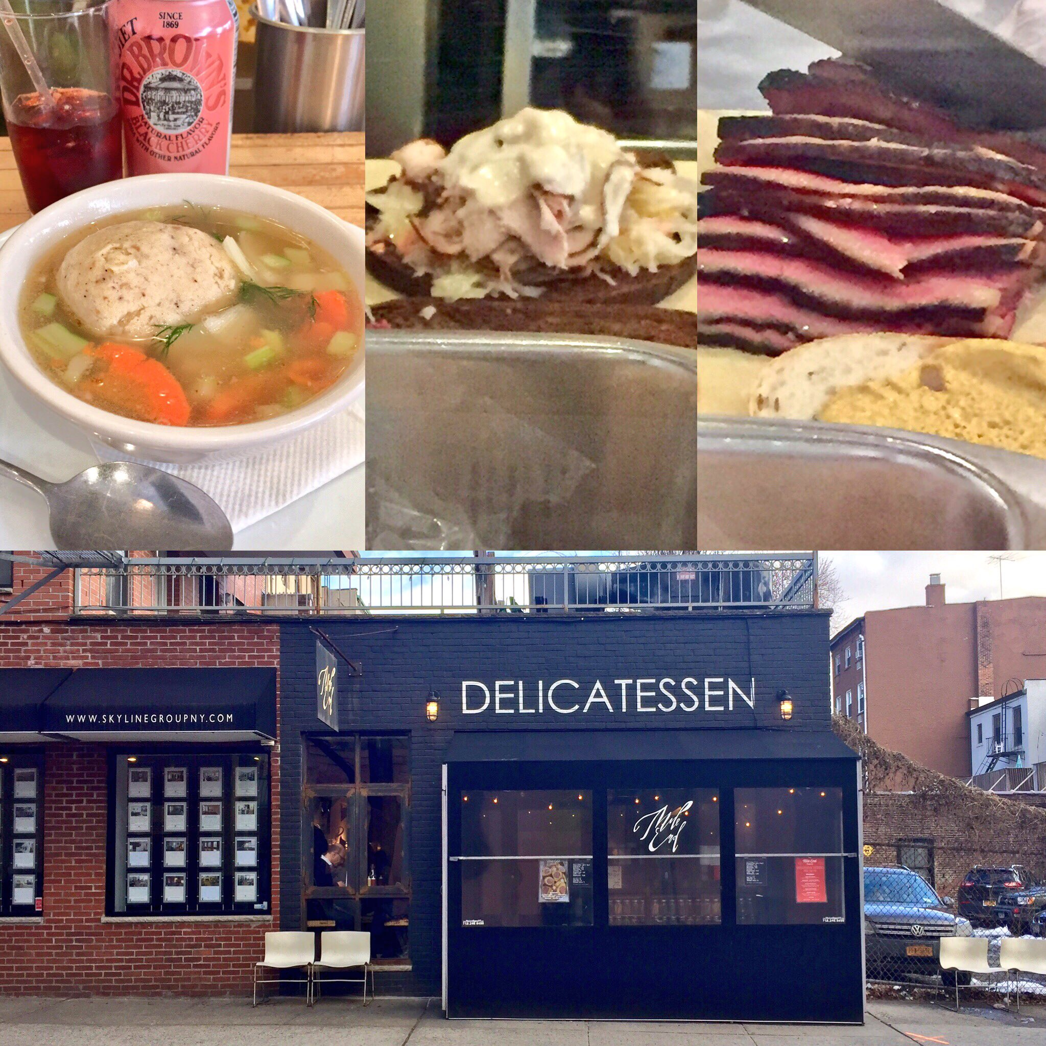Mile End Deli: combining Jewish deli with Canadian cuisine